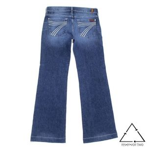 Seven 7 for all Mankind DOJO Flare Jean Trouser